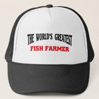 Greatest Fish Farmer Trucker Hat