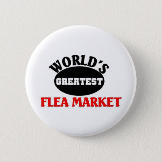 Greatest Flea market 6 Cm Round Badge