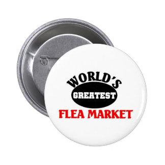 Greatest Flea market 6 Cm Round Badge