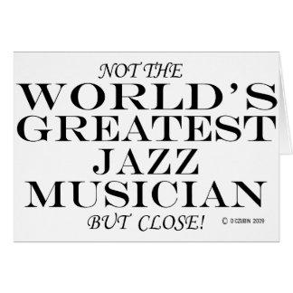 Greatest Jazz Musician Close Card