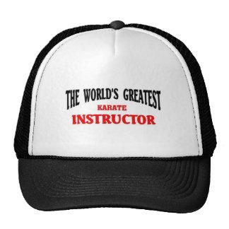 Greatest Karate instructor Cap