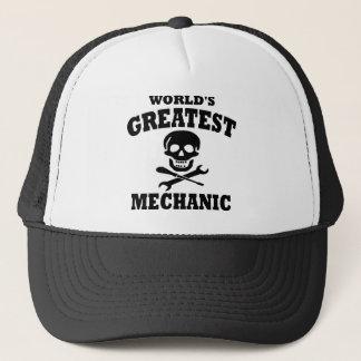 Greatest Mechanic Trucker Hat
