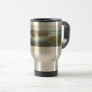 Greatest New York--1911 Aerial View Travel Mug