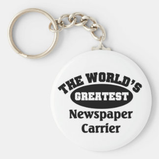 Greatest Newspaper Carrier Key Ring