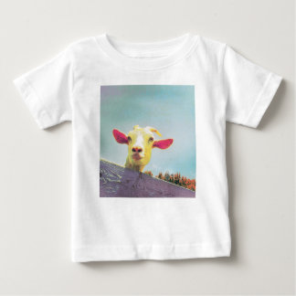 Greatest of All Time pink eared goat Baby T-Shirt