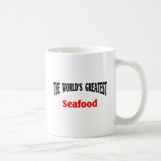 Greatest seafood coffee mug