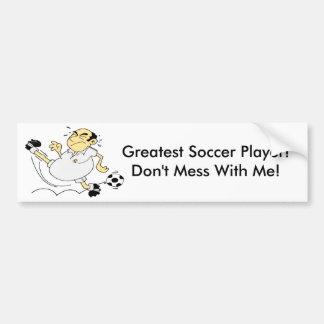 Greatest Soccer Player Bumper Sticker