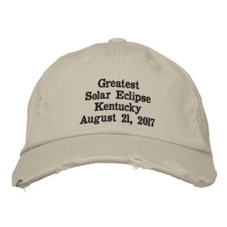 Greatest Solar Eclipse Kentucky Hat August 21,2017