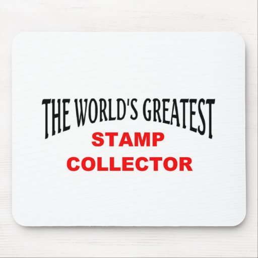 Greatest stamp collector mousepad