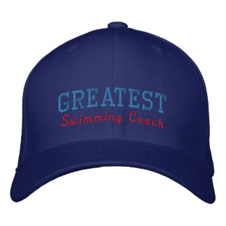Greatest Swimming Coach Baseball Cap