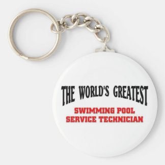 Greatest Swimming Pool Technician Key Ring