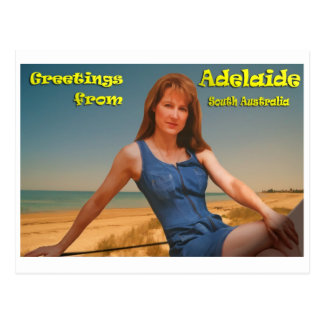 Greatings from Adelaide Postcard