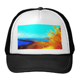 greatly changed beach trucker hat