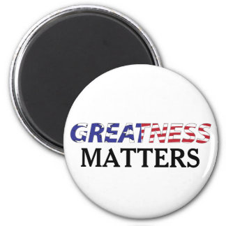 Greatness Matters USA Pride 6 Cm Round Magnet
