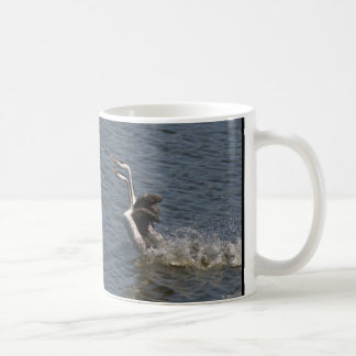 Grebe Birds Dance Wildlife Animals Mug