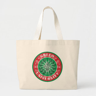 Greco University Italian Tote Bag