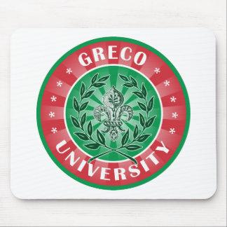 Greco University Italian Mouse Pad