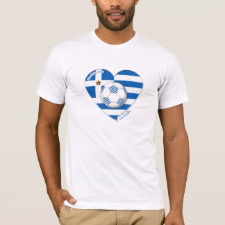 "Greece ""ΕΛΛΆΔΑ"" Soccer Team. Soccer Greece 2014 T-Shirt"