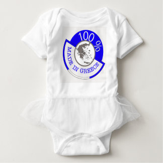 GREECE 100% CREST BABY BODYSUIT