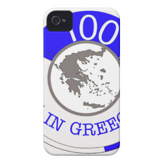 GREECE 100% CREST Case-Mate iPhone 4 CASES