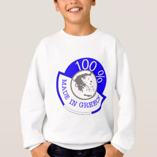 GREECE 100% CREST SWEATSHIRT