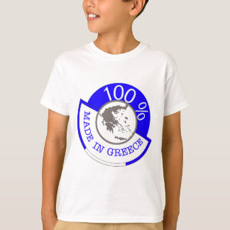 GREECE 100% CREST T-Shirt