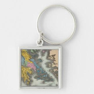 Greece 2 keychain