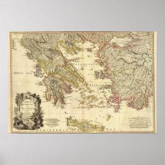 Greece, Anadoli Poster
