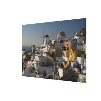 Greece and Greek Island of Santorini town of Oia Canvas Print