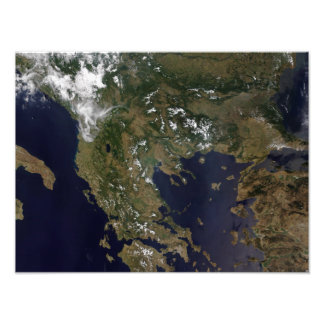 Greece and its surrounding countries photograph