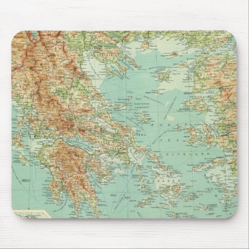 Greece and the Aegean Mousepads