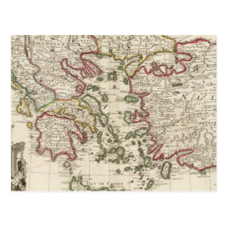 Greece and Turkey Postcard