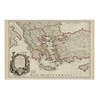 Greece and Turkey Poster