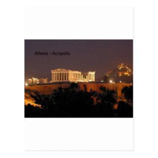 Greece - Athens - Acropolis (by St.K) Postcard