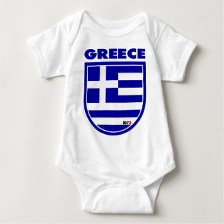 Greece Baby Bodysuit