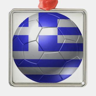 Greece ball Silver-Colored square decoration