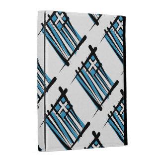 Greece Brush Flag iPad Case