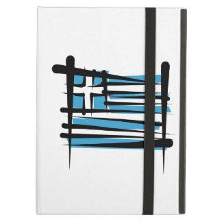 Greece Brush Flag iPad Cover