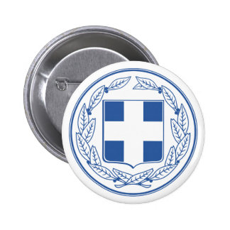 Greece Coat of Arms Button