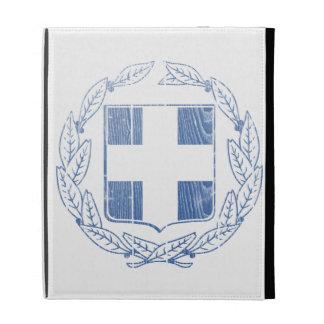 Greece Coat Of Arms iPad Folio Cases
