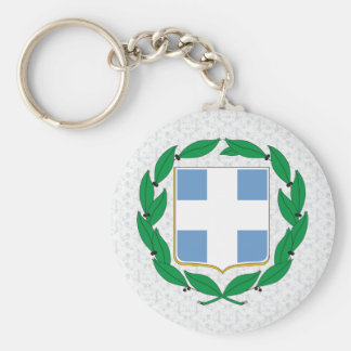 Greece Coat of Arms detail Key Chains