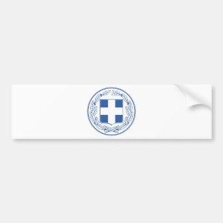 Greece Coat of arms GR Bumper Sticker