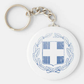 Greece Coat Of Arms Key Chain