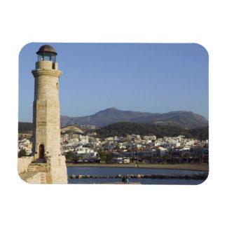 GREECE, CRETE, Rethymno Province, Rethymno: Rectangular Photo Magnet