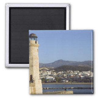 GREECE, CRETE, Rethymno Province, Rethymno: Square Magnet