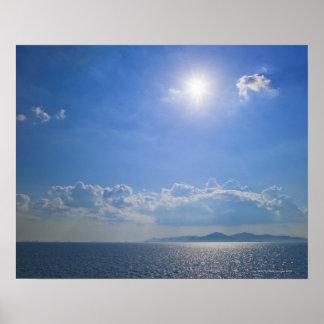 Greece, Cyclades Islands, Aegean Sea Poster