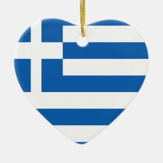 greece design ceramic heart decoration