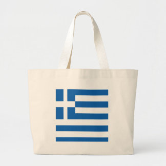 greece design large tote bag