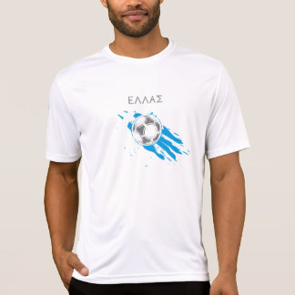 Greece (Ellas) Soccer T-Shirt