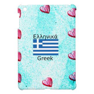 Greece Flag And Language Design iPad Mini Cases
